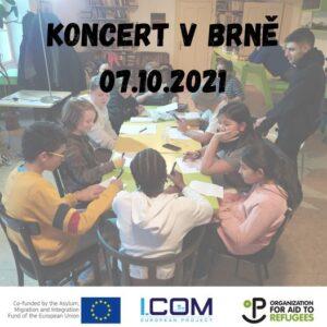 I.COM final concert in Brno